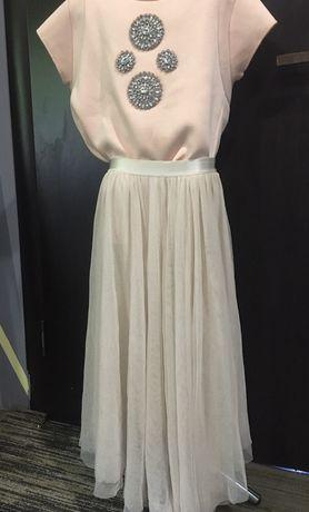 Кофта Zara блузка Zara женская вечерняя