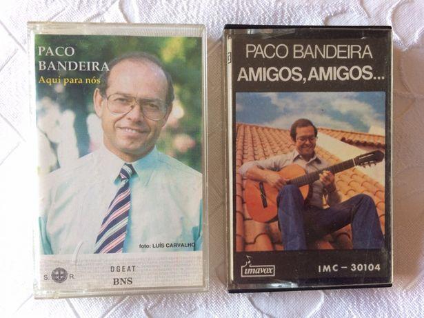 2 cassetes audio originais do Paco Bandeira