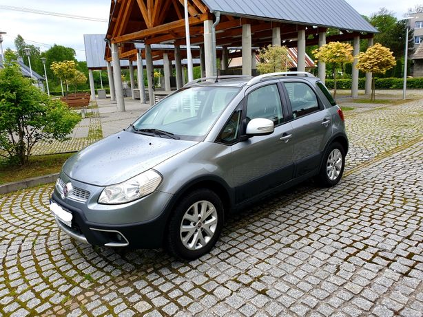 Fiat Sedici 2014r. 1.6Lpg 4x4 Salon Polska 1właściciel
