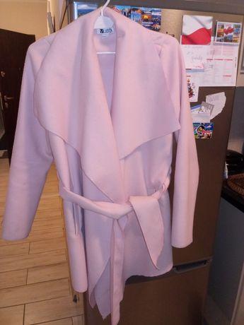 płaszczyk różowy rozmiar xs