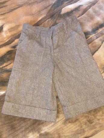 Новые школьные шорты для девочки р. 140-146 см