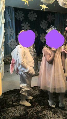Костюм зайчика 3-4 года