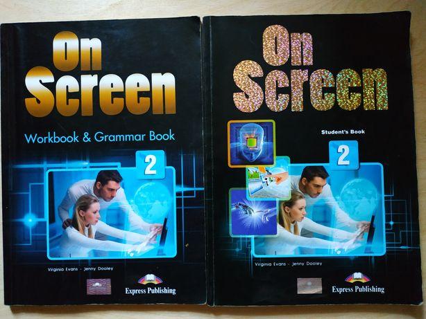 On screen 2 (student's book и workbook grammar book)  (Он скрин 2)
