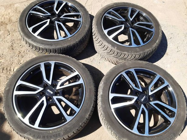 Alufelgi 17 5x100 Audi A3 S3 TT Seat Leon Ibiza Volkswagen Golf Bora