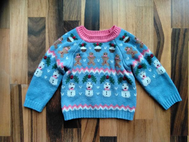 Sweter zimowy next 92 - 98