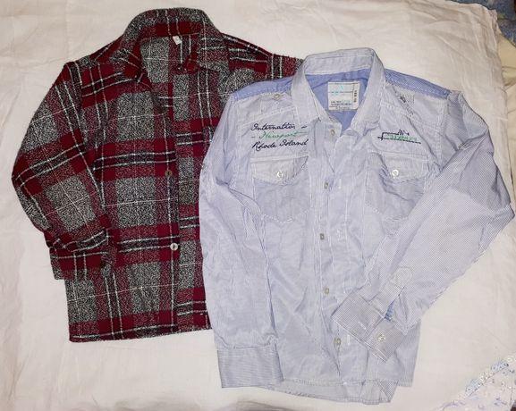 Рубашки, водолазки, шорты.
