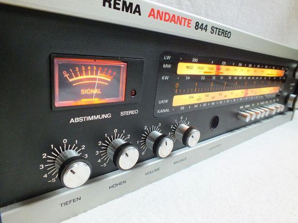 Amplituner REMA Andante 844 STEREO Sprzęt jak nowy!
