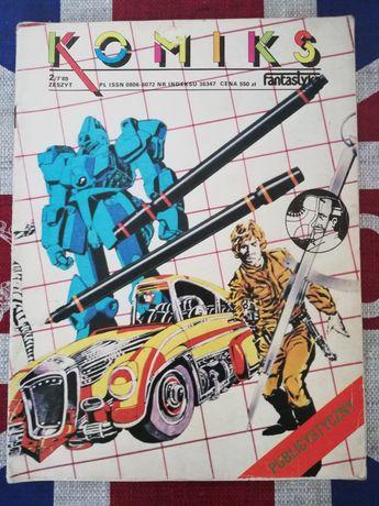 Komiks Fantastyka Nr 2/7 89 z Wyprawą Grzegorza Rosińskiego!