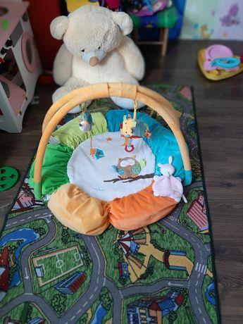 Коврик развивающий с дугой для новорождённых