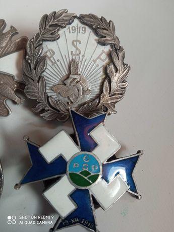 Odznak odznaki pułkowe strzelców podhalańskich