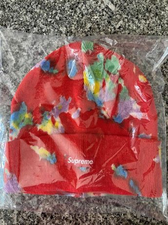 Splatter Dyed Beanie Supreme