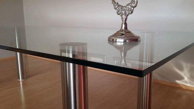 Stół szklany xl, duży jadalnia