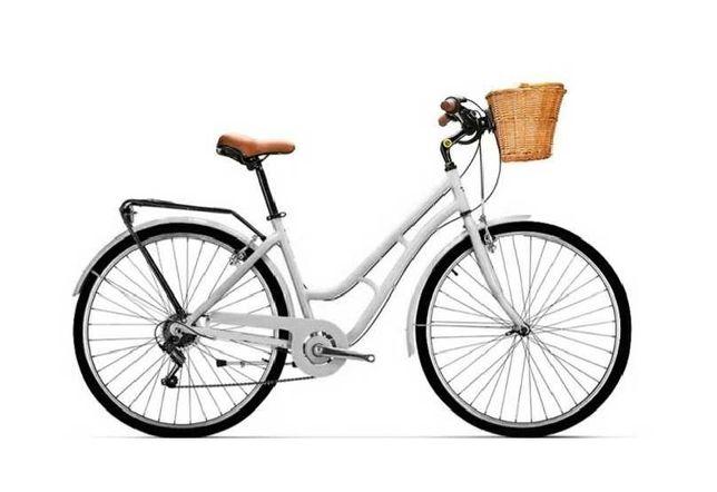 Bicicleta Urbana Esmaltina Pasteleira de Passeio City Trekking NOVA