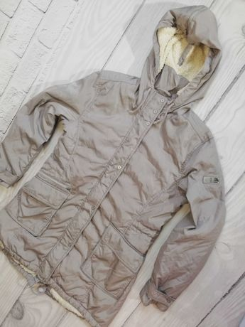 Płaszcz jesienny z kapturem Champion S