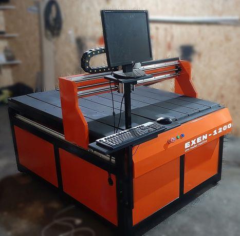 Станок ЧПУ фрезерный 3D 1200х800