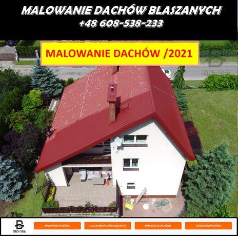 Malowanie Dachów blachodachówki, impregnacja dachówki Gwarancja