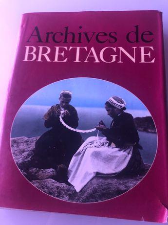 "Livro ""Archives de Bretagne"""