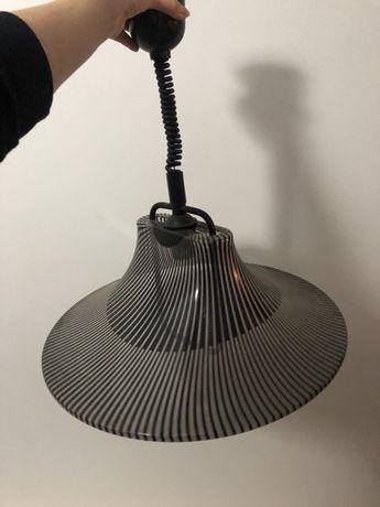 Czarny żyrandol, lampa
