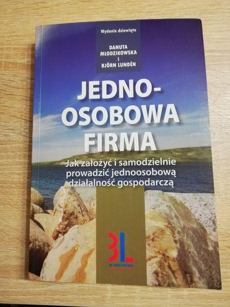 Książka Jednoosobowa firma