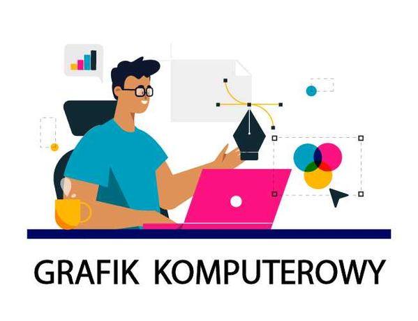 Grafik komputerowy - projekty Logo | Wizytówka | banery | ulotki