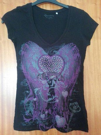 T-Shirt Guess Preta