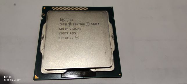 процессор Intel Pentium G2020 SR10H 2.9GHZ сокет 1155