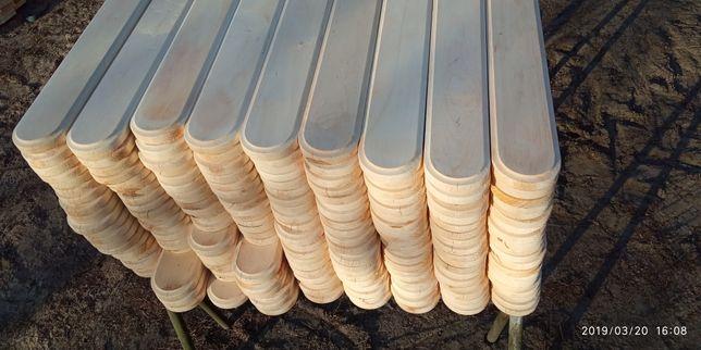Sztachety Olchowe 130 cm 9,5 cm szerokie grube Frez w Cenie