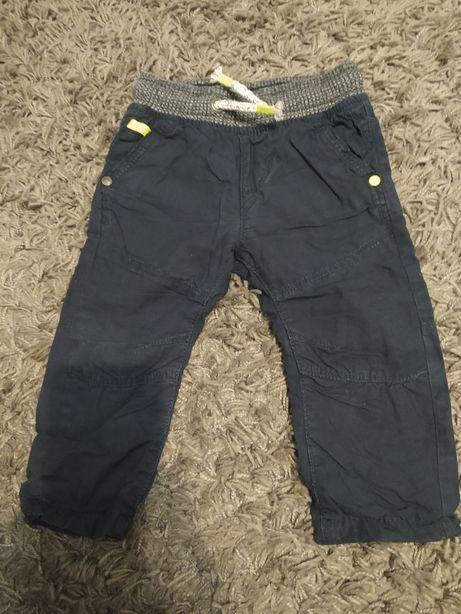 Spodnie chłopięce z podszewką Next rozm. 68-74