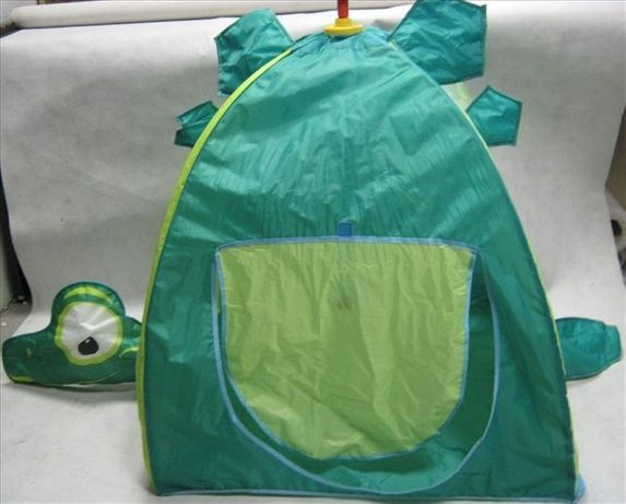 Namiot Dziecięcy Pop Up Zielony Żółw