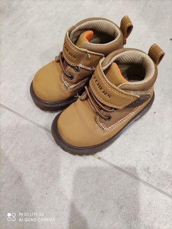 Skechers Adventures traperki dziecięce buty musztarda