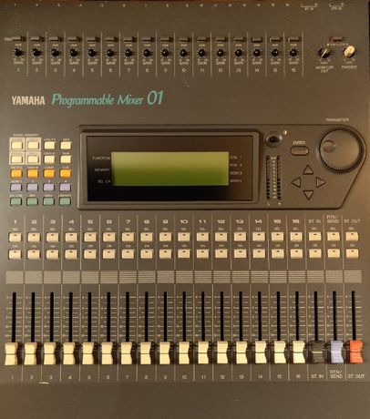 Yamaha Programmable Mixer ProMix 01