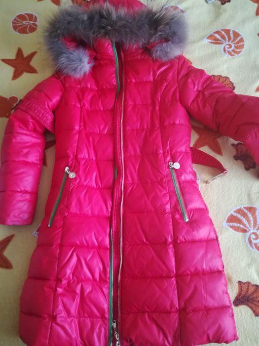 Пуховик зимнее пальто для девочки Киев - изображение 1