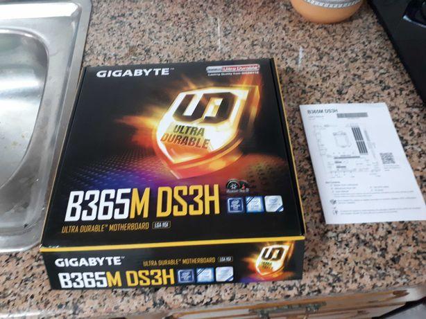 Motherboard Gygabite B365M DS3H ( Nova na embalagem ) P/ Intel