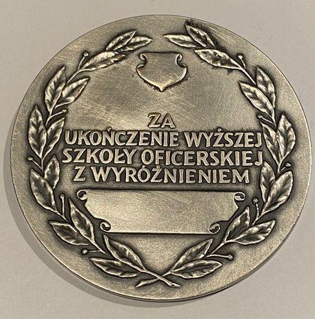 Medal Ukończenie Wyż. Szk. Oficerskiej 1992. Mennica Państwowa