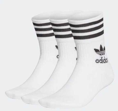 Adidas Originals MID CUT CREW SOCKS 3 Pary