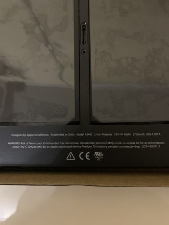 Аккумулятор MacBook air 13 2012 a1466 (MD231).