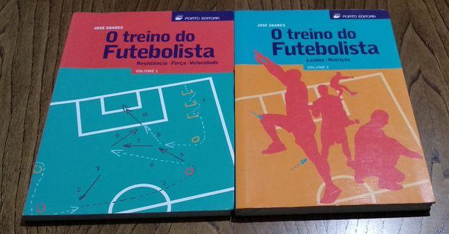 O Treino do Futebolista - volume 1 e volume 2