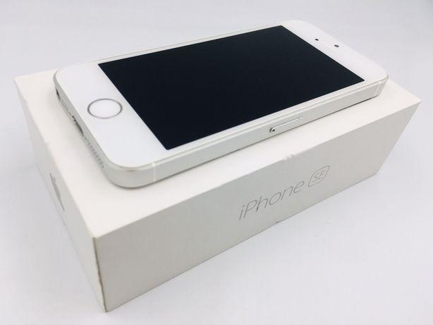iPhone SE 32GB SILVER • NOWA bateria • GWARANCJA 1 MSC • AppleCentrum