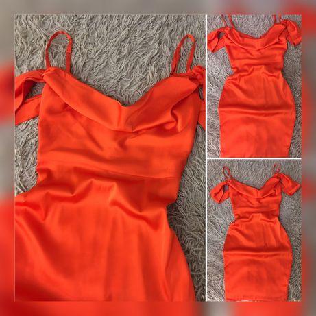 Атласное платье , s/m
