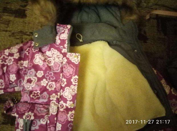 Зимний комбинезон 1,5-2 года