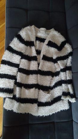 Sweter czarno bialy