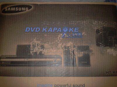 Продам домашний кинотеатр с проигрывателем DVD-караоке Samsung HT-KQ20
