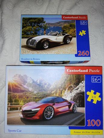 Puzzle Castorland 100 i 260 auta