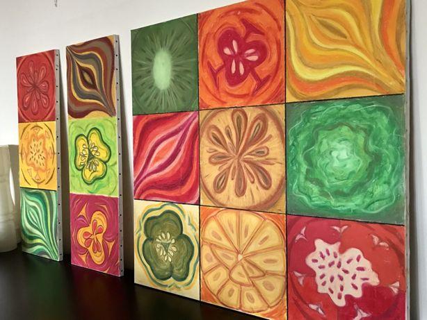 """Quadro / tela / arte - """"Natureza"""" Pastel de óleo sobre tela - original"""