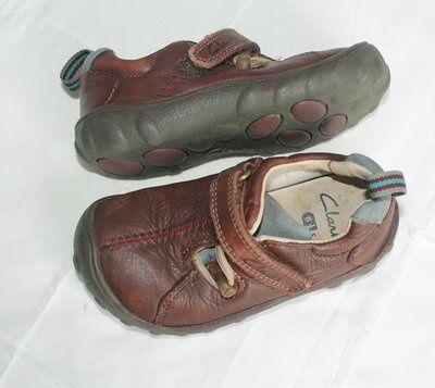 Туфли мокасины  оригинал Clarks 15см 6,5F