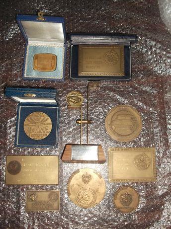 Medalhas de Rally e Karting em bronze + trofeu (ver fotos)