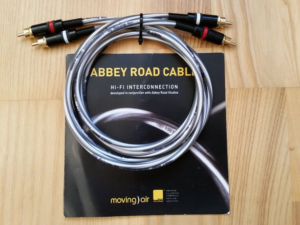 Interkonekt Abbey Road Cable by Moving Air, 2x1m