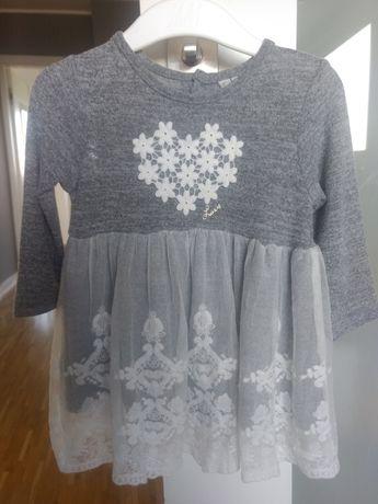 Sukienka Losan 68 cm, 3-6 m-cy święta, chrzest