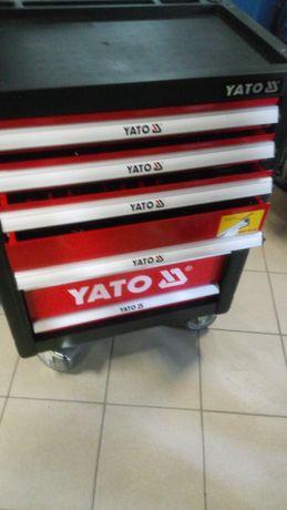 Szafka narzędziowa warsztatowa YT-55307 z wyposażeniem 185 elementów