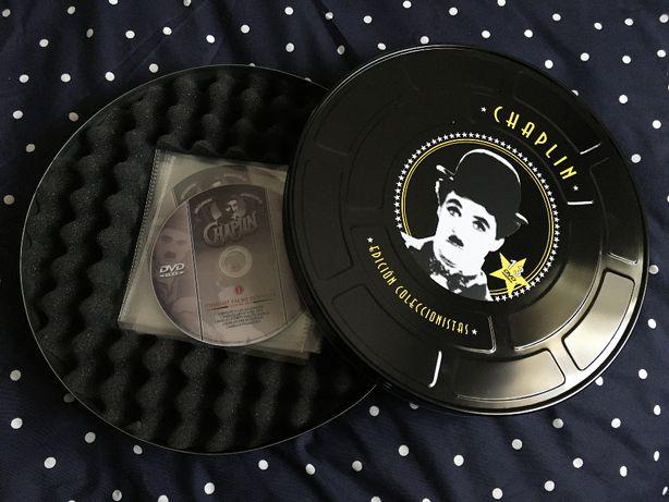 Charlie Chaplin Curtas Metragens Edição Colecionador Lata Bobina Filme